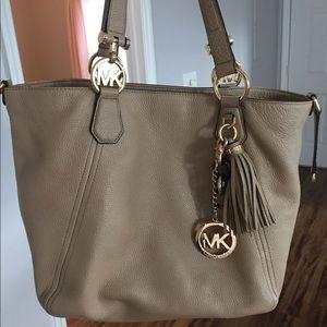 Michael Kors Tan Handbag Tote